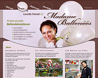 WEBSITE Madame Ballonöös