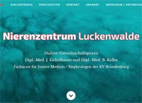 WEBSITE Nierenzentrum Luckenwalde