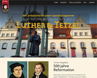 WEBSITE Luther & Tetzel
