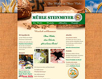 WEBSITE Mühle Steinmeyer Luckenwalde