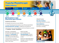 WEBSITE Physiotherapie Andrea Moseus