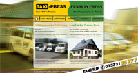WEBSITE Taxi-Press und Pension Press Trebbin